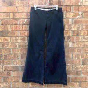 Navy Sailor Denim Wide Leg Jeans 4/27 GAP